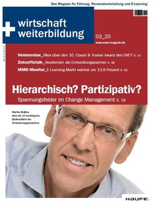 wirtschaft + weiterbildung Ausgabe 3/2020 | wirtschaft & weiterbildung