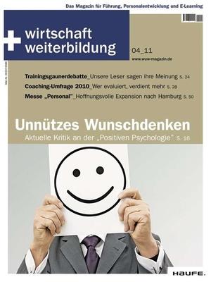 wirtschaft + weiterbildung Ausgabe 4/2011 | wirtschaft & weiterbildung