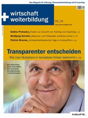 wirtschaft + weiterbildung Ausgabe 4/2021 | wirtschaft & weiterbildung