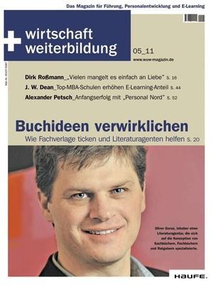 wirtschaft + weiterbildung Ausgabe 5/2011 | wirtschaft & weiterbildung