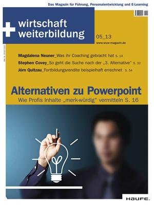 wirtschaft + weiterbildung Ausgabe 5/2013 | wirtschaft & weiterbildung