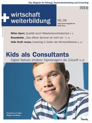 wirtschaft + weiterbildung Ausgabe 6/2009 | wirtschaft & weiterbildung