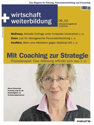 wirtschaft + weiterbildung Ausgabe 6/2010 | wirtschaft & weiterbildung