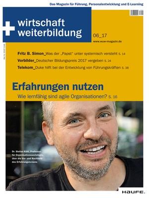 wirtschaft + weiterbildung Ausgabe 6/2017 | wirtschaft & weiterbildung