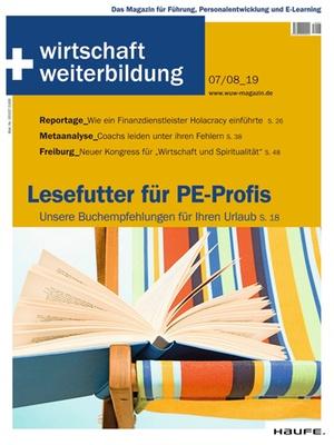 wirtschaft + weiterbildung Ausgabe 07+08/2019 | wirtschaft & weiterbildung
