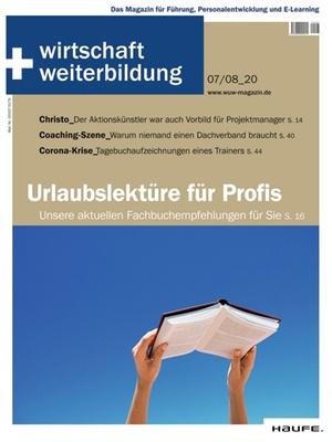 wirtschaft + weiterbildung Ausgabe 7+8/2020 | wirtschaft & weiterbildung