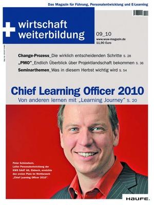 wirtschaft + weiterbildung Ausgabe 9/2010   wirtschaft & weiterbildung