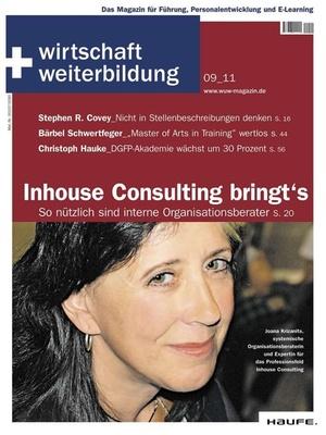 wirtschaft + weiterbildung Ausgabe 9/2011 | wirtschaft & weiterbildung
