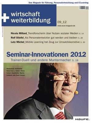 wirtschaft + weiterbildung Ausgabe 9/2012 | wirtschaft & weiterbildung