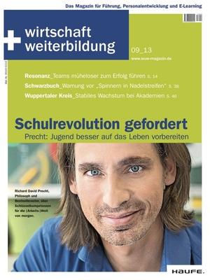 wirtschaft + weiterbildung Ausgabe 9/2013 | wirtschaft & weiterbildung