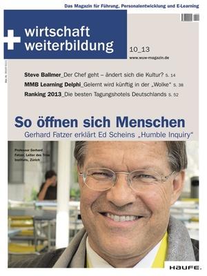 wirtschaft + weiterbildung Ausgabe 10/2013 | wirtschaft & weiterbildung