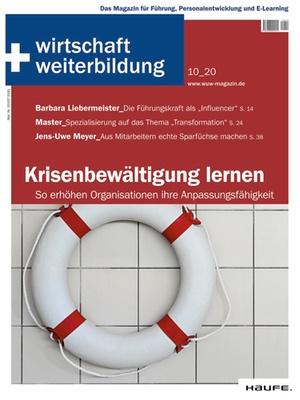 wirtschaft + weiterbildung Ausgabe 10/2020 | wirtschaft & weiterbildung