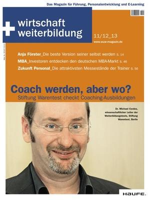 wirtschaft + weiterbildung Ausgabe 11+12/2013 | wirtschaft & weiterbildung