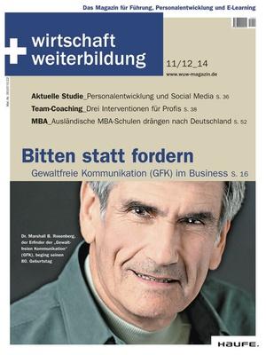 wirtschaft + weiterbildung Ausgabe 11+12/2014 | wirtschaft & weiterbildung