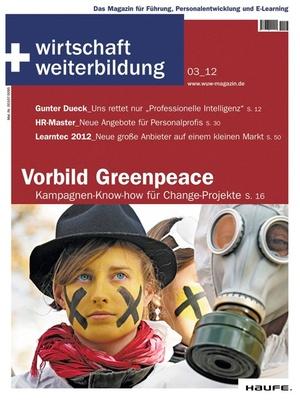 wirtschaft + weiterbildung Ausgabe 3/2012 | wirtschaft & weiterbildung