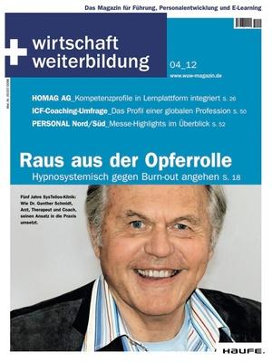 wirtschaft + weiterbildung Ausgabe 4/2012 | wirtschaft & weiterbildung