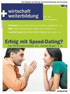 wirtschaft + weiterbildung Ausgabe 5/2012 | wirtschaft & weiterbildung