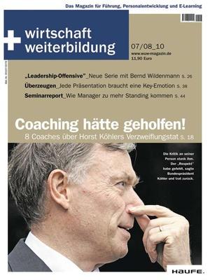 wirtschaft + weiterbildung Ausgabe 7+8/2010 | wirtschaft & weiterbildung