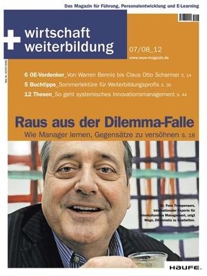 wirtschaft + weiterbildung Ausgabe 7+8/2012 | wirtschaft & weiterbildung