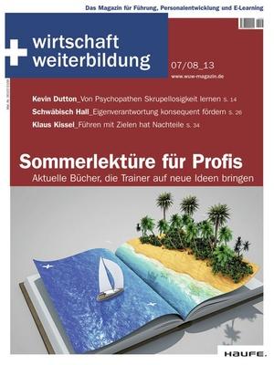 wirtschaft + weiterbildung Ausgabe 7+8/2013 | wirtschaft & weiterbildung