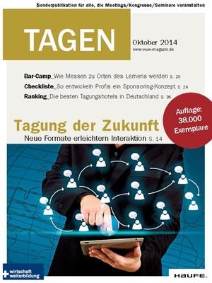 Tagung der Zukunft: Tagen Oktober 2014