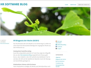 HR-Blogs: www.hr-software-blog.com