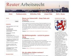 HR-Blogs: Skurriles und Hilfreiches: www.reuter-arbeitsrecht.de