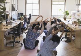 Yoga im Büro (1)