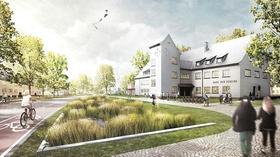 York-Kaserne Münster Visualisierung neues Stadtquartier