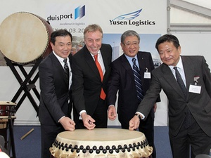 Yusen Logistics eröffnet Logistikzentrum im Duisburger Hafen