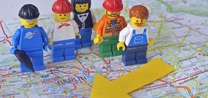 961.000 Leiharbeiter, über 50.000 Leiharbeitsfirmen