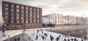 Hamburger Büro KBNK liefert Entwurf für Mainzer Zollhafen