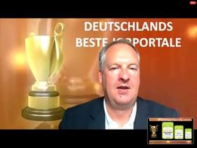 ZPE Virtual: Wolfgang Brickwedde verleiht Preis für beste Jobportale