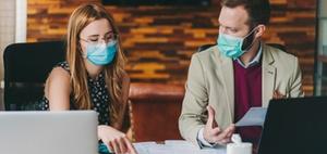 Arbeitsunfähigkeit wegen Befreiung von Maskenpflicht